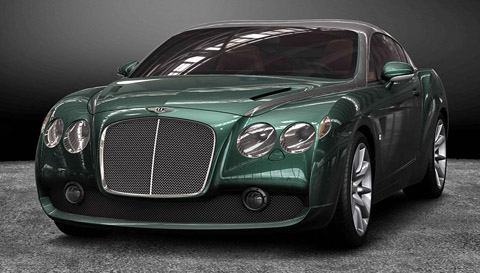 2012 Bentley Continental GTZ Preview