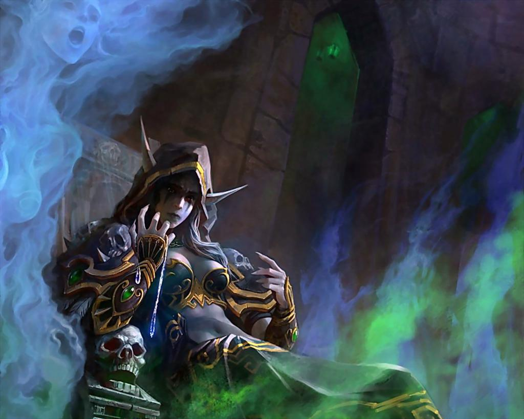 World of Warcraft HD & Widescreen Wallpaper 0.923615873445206