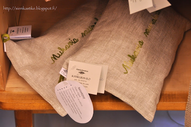 saunatyynyjä mukavia saunahetkiä, sauna pillows