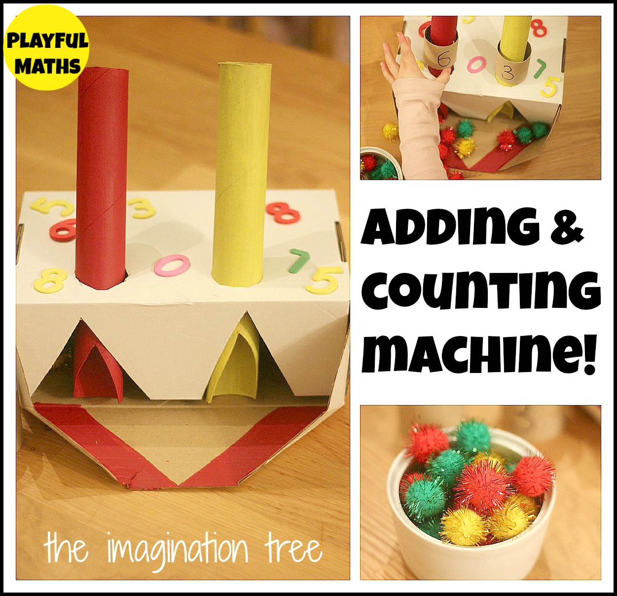 Worksheets Hands On Addition Activities For Kindergarten addition and counting machine maths activity the imagination tree welcome