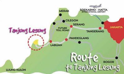 Map Tanjung Lesung