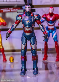 Hasbro 2013 Toy Fair Display Pictures - Iron Man Marvel Legends - Iron Patriot Movie Version