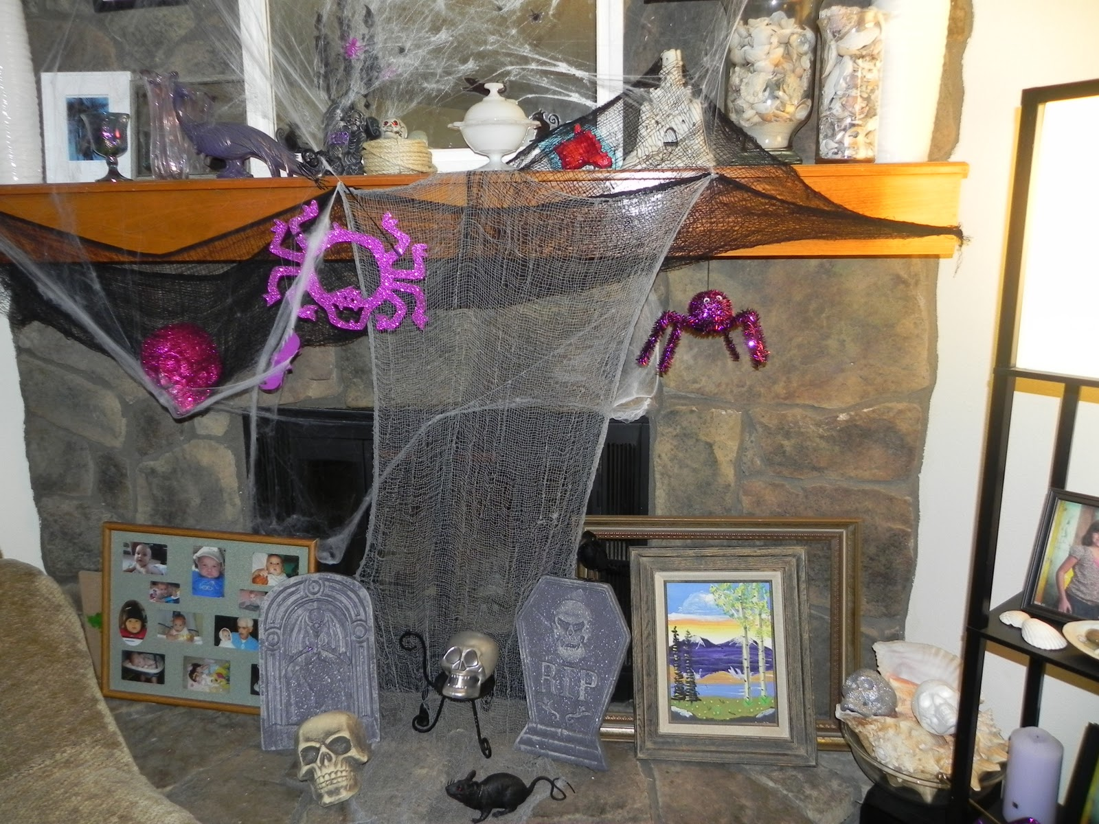 Smart n snazzy diy halloween decor cheap and easy - Cheap and easy halloween decorations ...