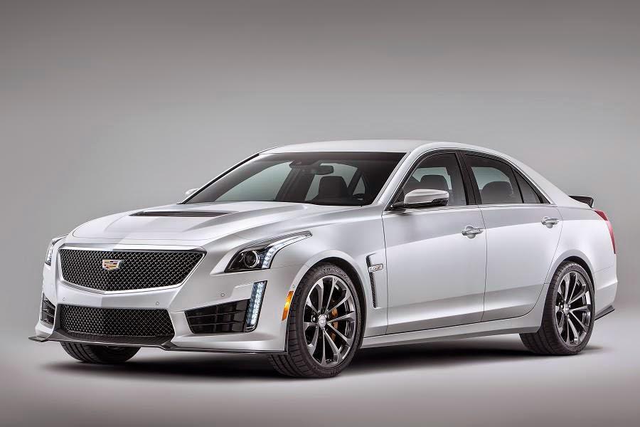Cadillac CTS-V Sedan (2016) Front Side