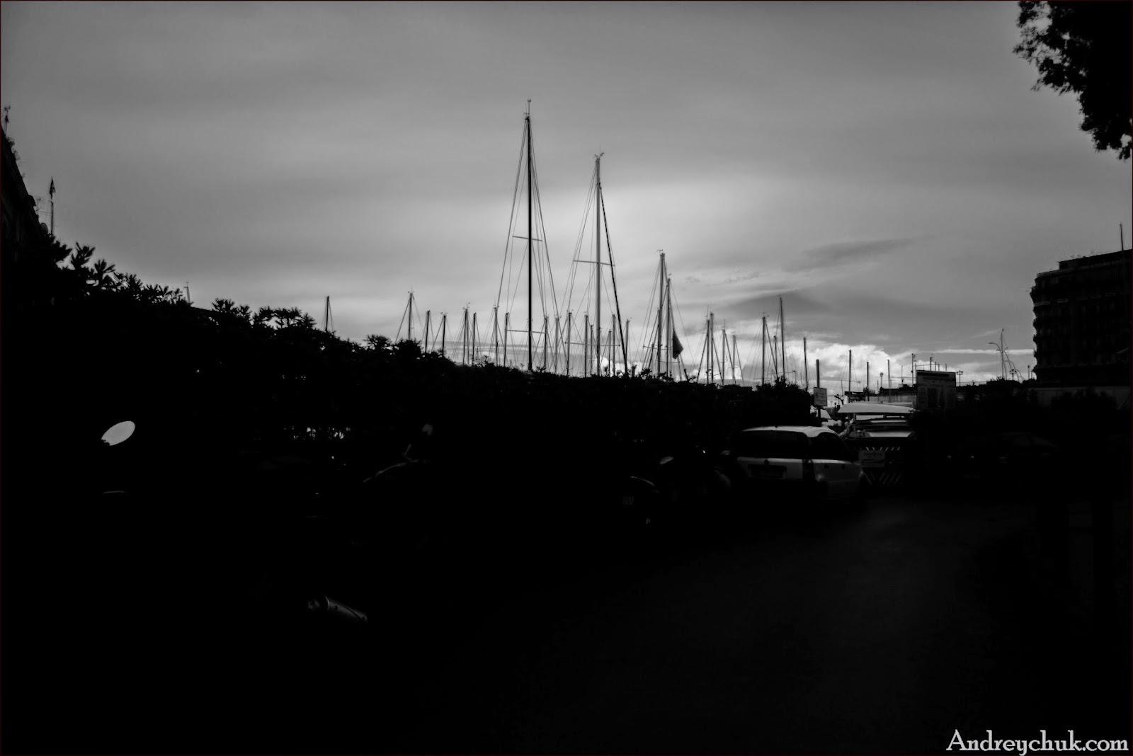 Яхтинг в неаполитанском заливе, порт Неаполь