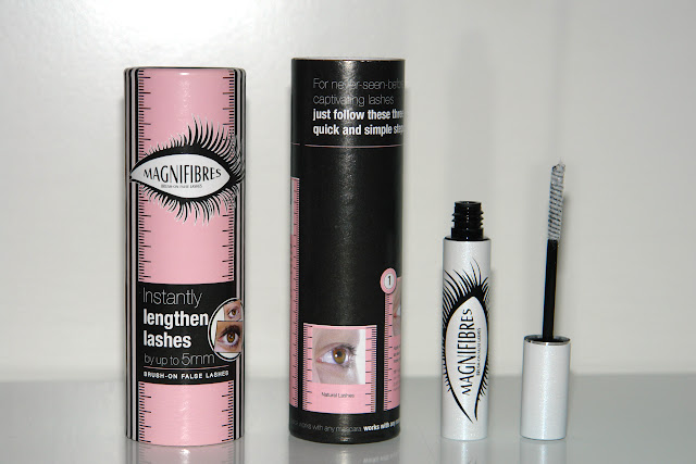 beauty, review, eyelashes, mascara, Magnifibres Brush-on False Lashes Review