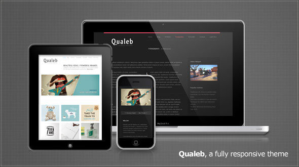 Qualeb - Responsive WordPress Theme Free Download by Mojo Themes.