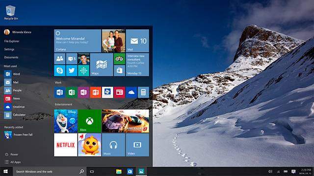 Windows 10: Practice Test, Release and fresh info
