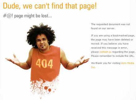Ejemplo 5 Error 404