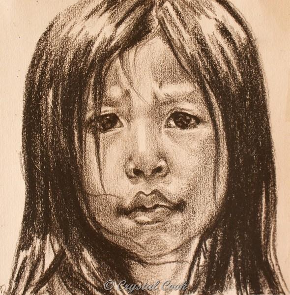 female photo asian Art