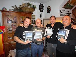 Cuatro de los cinco hombres de mi vida.