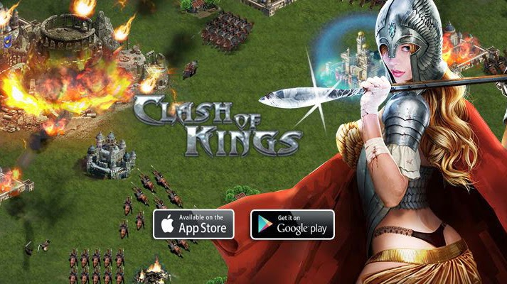 Clash of Kings Gameplay IOS / Android