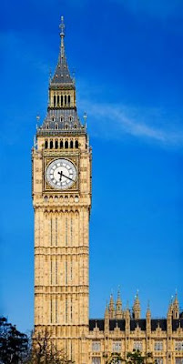 Tempat Wisata Di Inggris - Palace of Westminster (Istana Westminster) - Elizabeth Tower