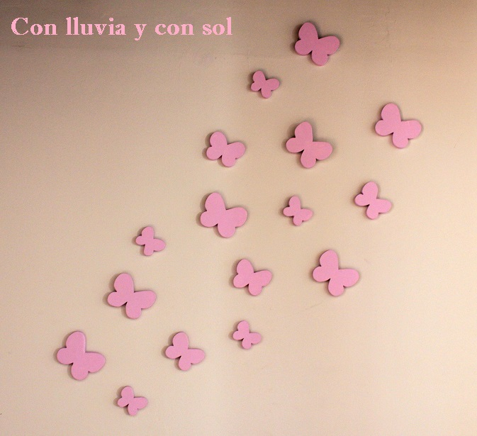 mariposas decorativas de pared