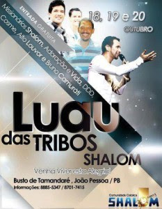 Luau das Tribos 2012 Comunidade Shalom