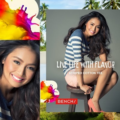 Kathryn Bernardo for Bench Summer 2014