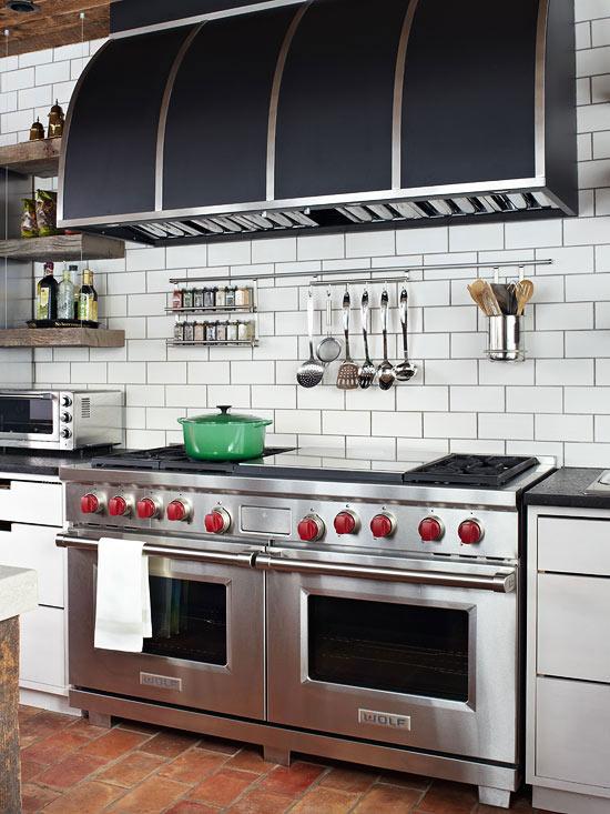 Open Kitchen Oven ~ Lulu belle design trendy tuesday