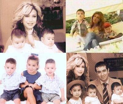 14 صور عائلات الفنانين ابناء و زوجات فنانين لم يظهروا فى الاعلام من قبل