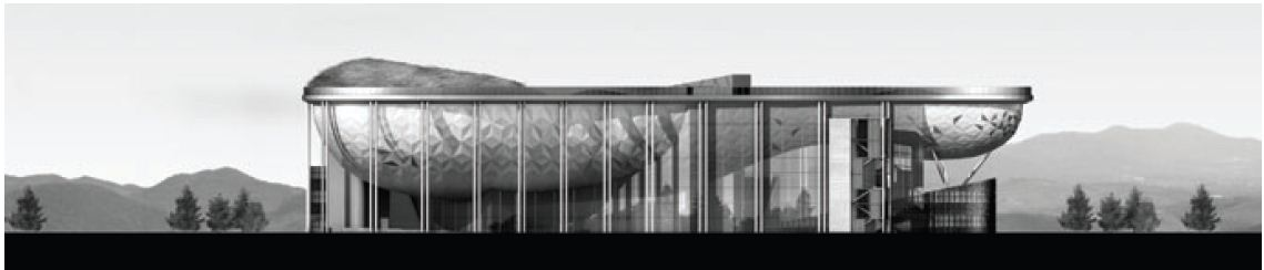 Waiting Room Elevation : Architecture competition winner comprehensive wellness