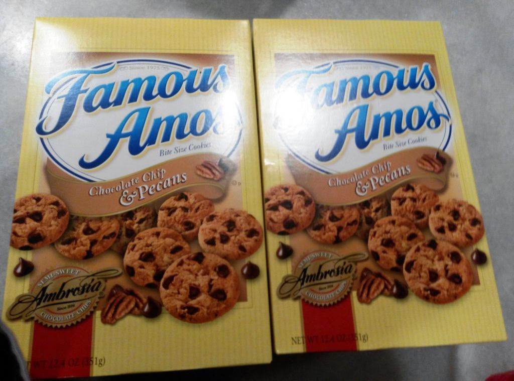 famous amos The famous amos brand has gone through a number of owners since inception between 1988 and 2001, the famous amos company went through more than five different owners.