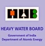 Heavy Water Board Recruitment