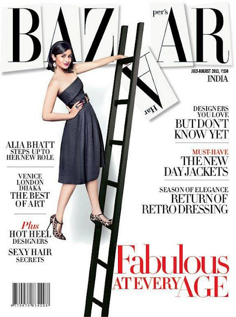 Alia Bhatt – Harper's Bazaar India (July 2013)