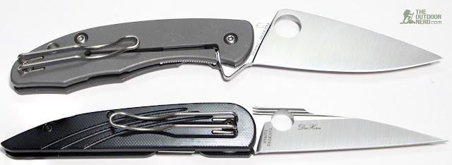 Spyderco Mantra EDC Pocket Knife - With Des Horn 2