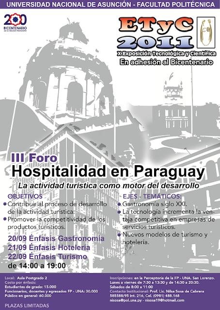 Imagen del III Foro de Hospitalidad en Paraguay