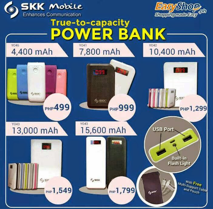SKK Mobile Power Bank Now Available, Price Starts at Php499