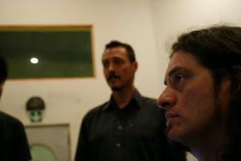 Pedro Aznar en Casa Frida con Hernán