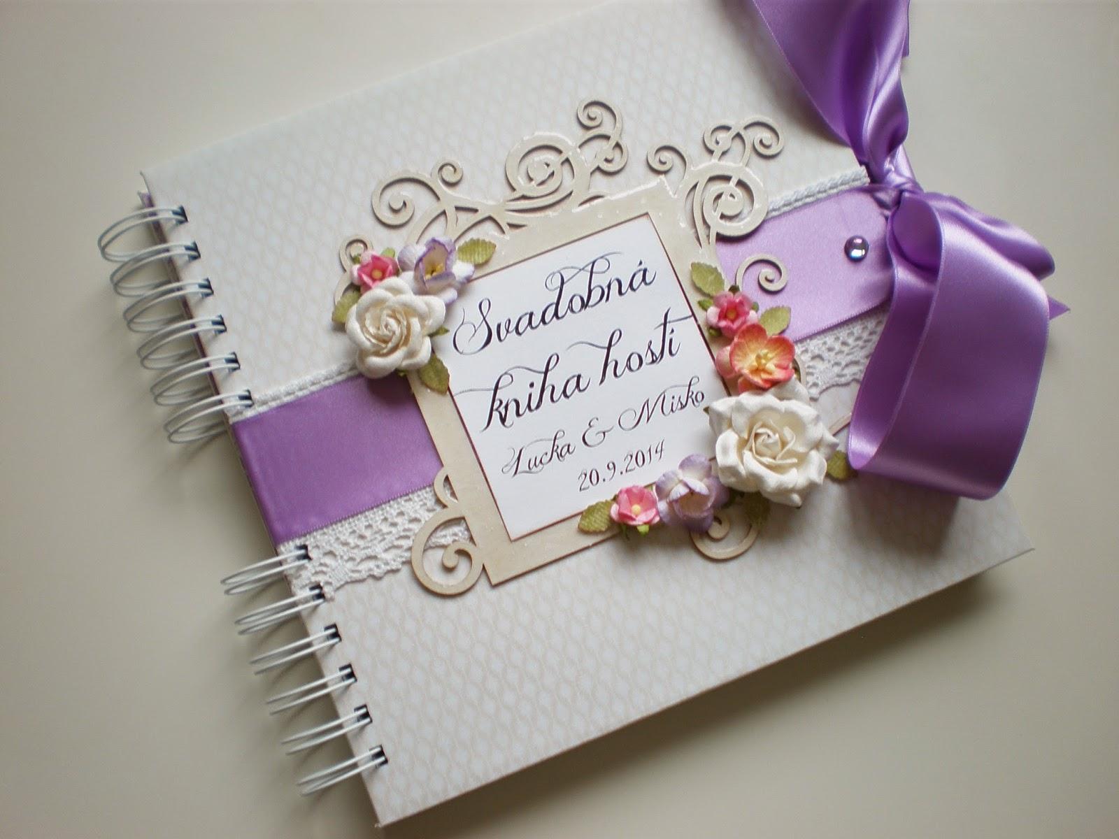 Svadobná kniha hostí / Wedding guest book