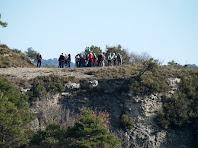 Durant el recorregut diversos miradors naturals mostren permeten vistes úniques del Voltreganès