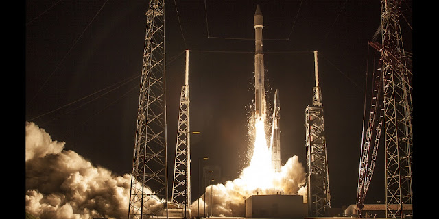 United Launch Alliance (ULA) successfully launched its 100th mission with an Atlas V rocket carrying the Morelos-3 satellite for Mexico's Ministry of Communications and Transportation. The mission, procured for Mexico by Lockheed Martin Commercial Launch Services, launched at 6:28 a.m. EDT from Space Launch Complex-41. Credit: ULA