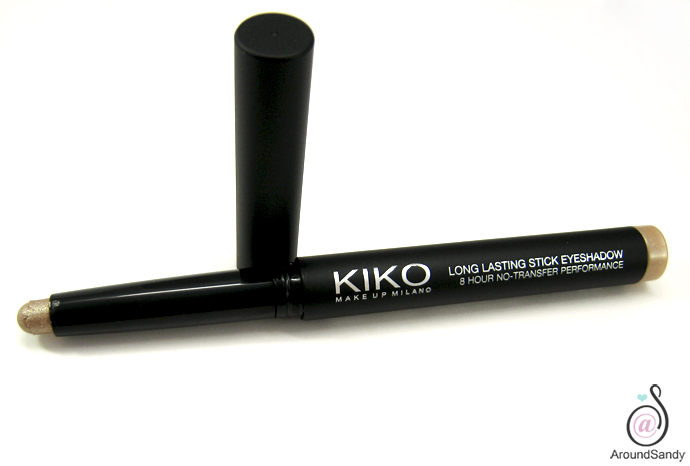 golden beige 07 long lasting stick eyeshadow kiko cosmetics