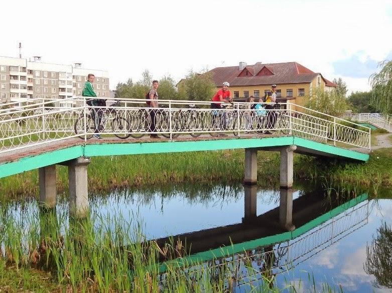 Свабедный мост в Дрибине