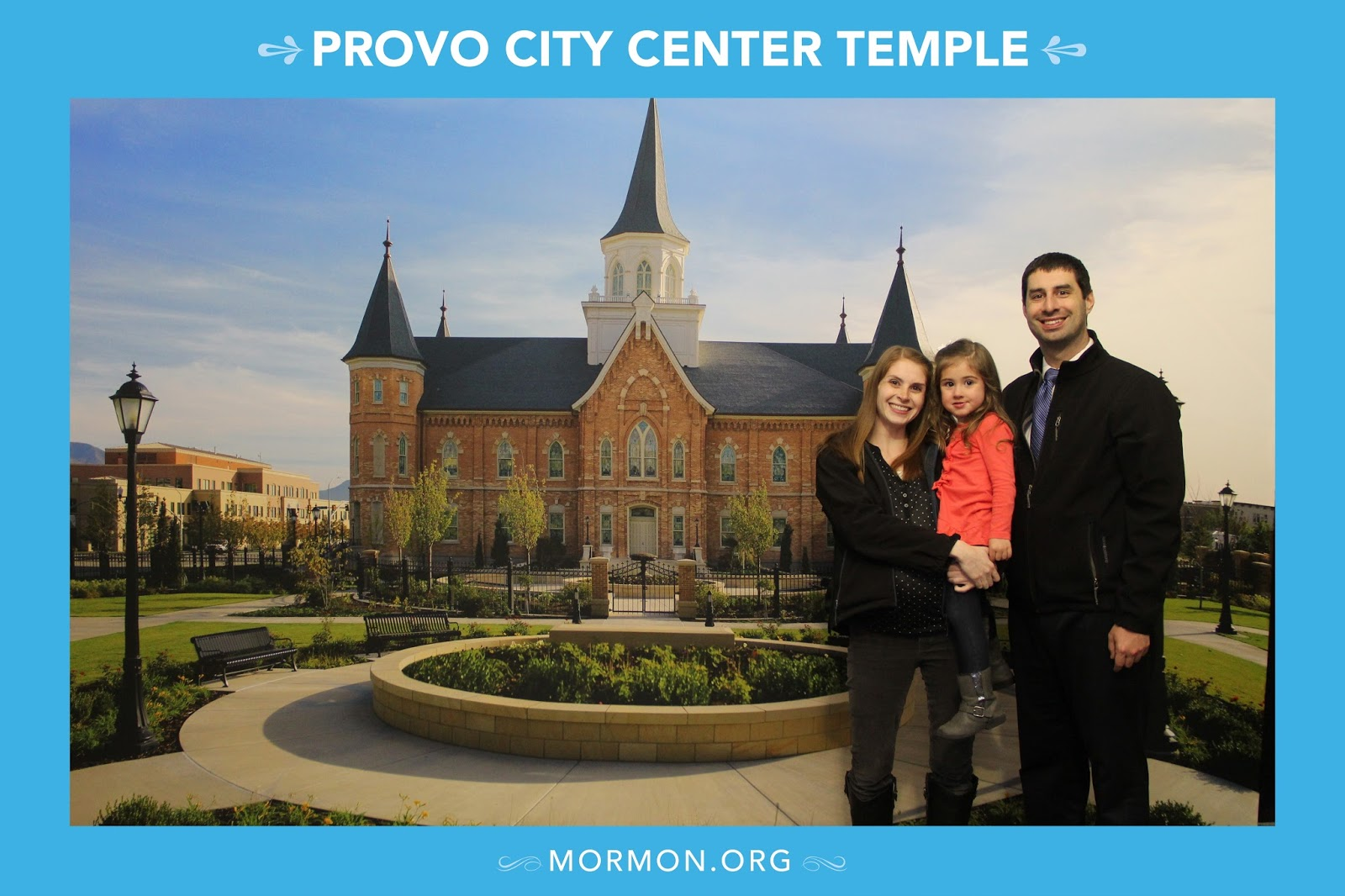 This Is What It Actually Looked Like For Us. When We Went To The Payson Temple  Open House ...