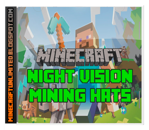 Night Vision Mining Hats Mod carátula