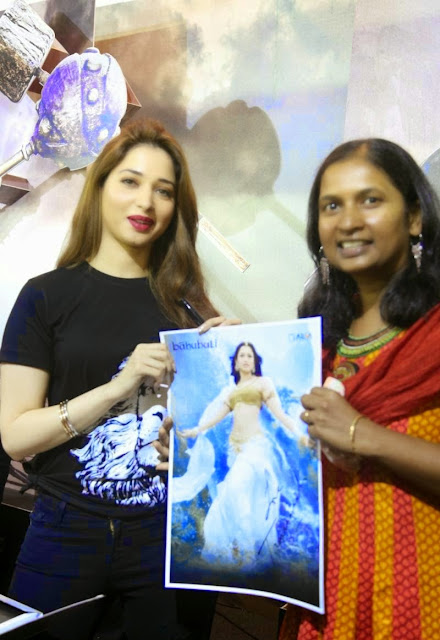 Tamanna Bhatia Looks Super Sexy As She Promotes
