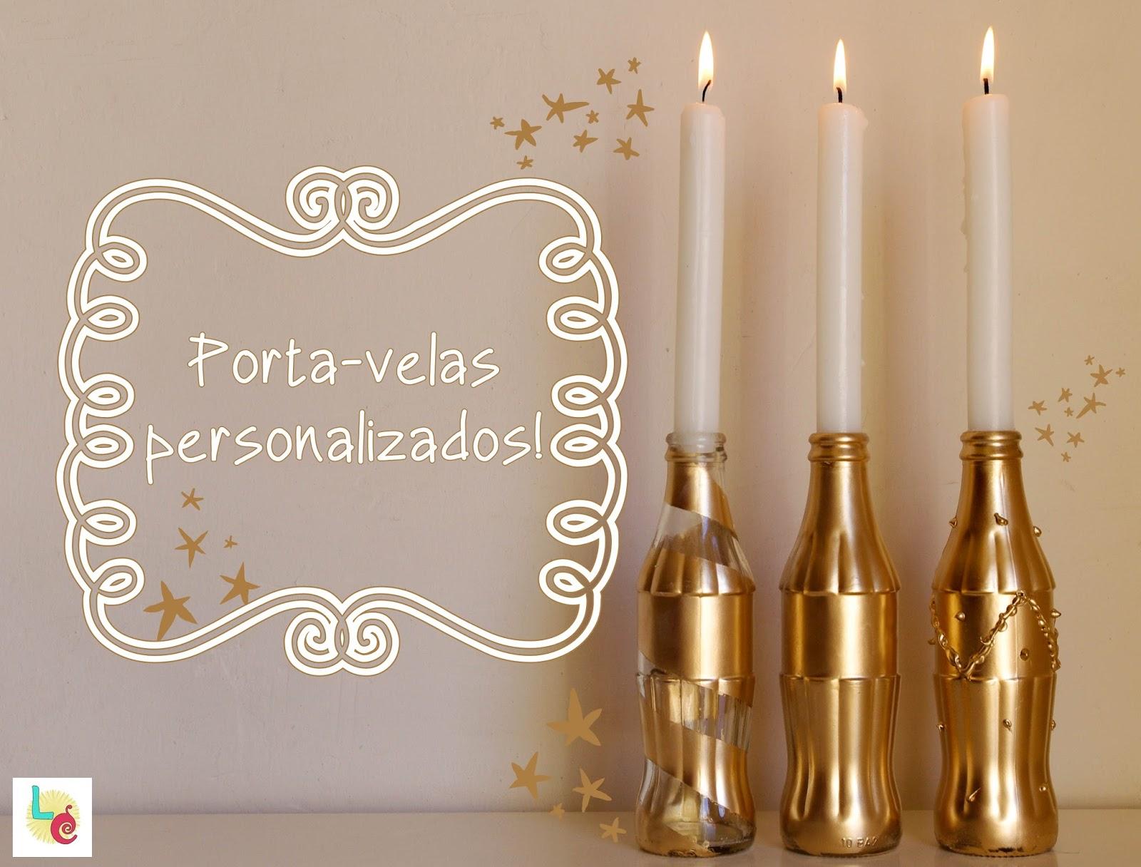 Lovers crafts porta velas diy - Velas y portavelas ...