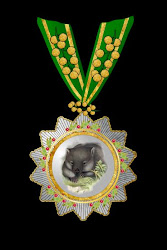 The Grand Order of the Wombat 1st class , with acaia clasp,Hoche-Affeburg