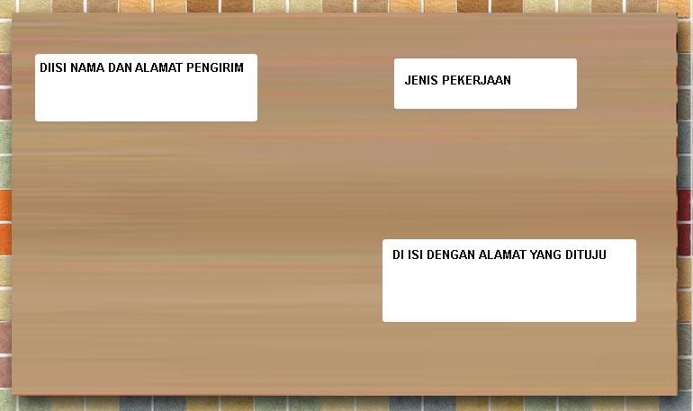 Related : BERBAGAI CONTOH AMPLOP SURAT LAMARAN KERJA YANG BAIK View ...