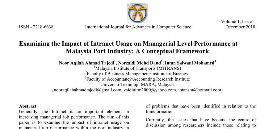 Journal of accounting research conference