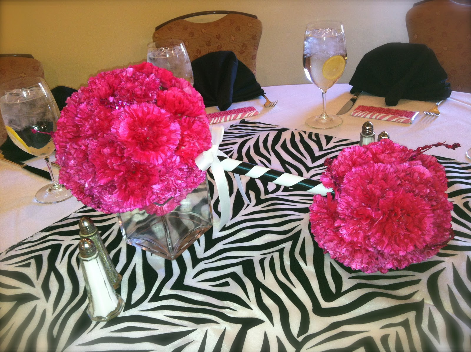 It s simple jen pink zebra baby shower
