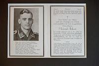 Heinrich Bökers funeral memorial