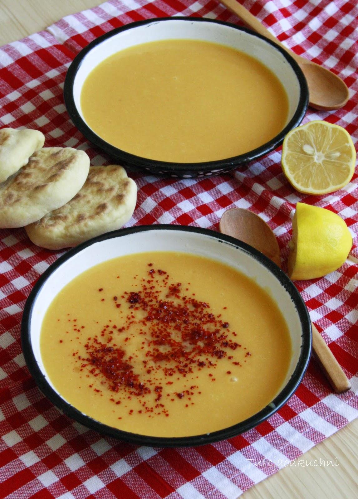 Turcja Od Kuchni Klasyczna Turecka Zupa Z Soczewicy