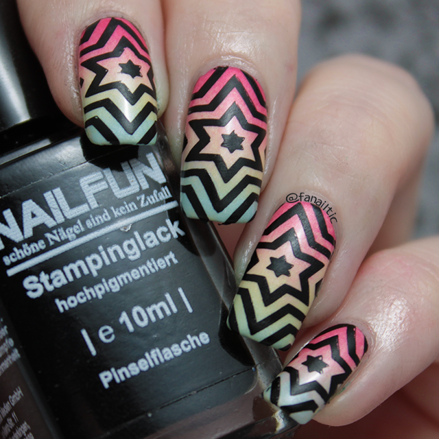 Catrice rock-o-co LE gradient + BP11 stamping