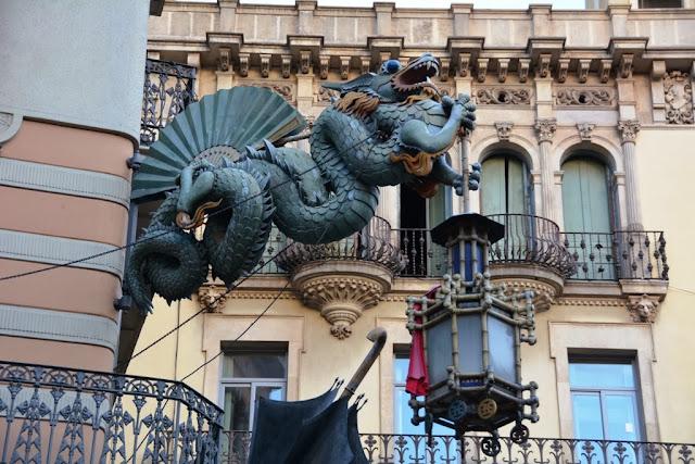 La Rambla Barcelona Dragon