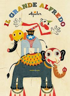 illustration of circus il grande alfredo by spider