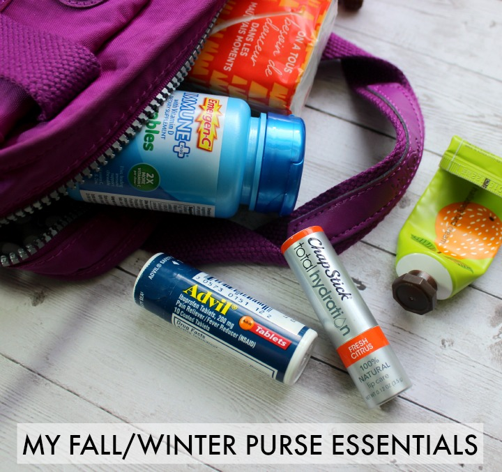 My fall winter purse essentials  #BeHealthyForEveryPartofLife #CollectiveBias
