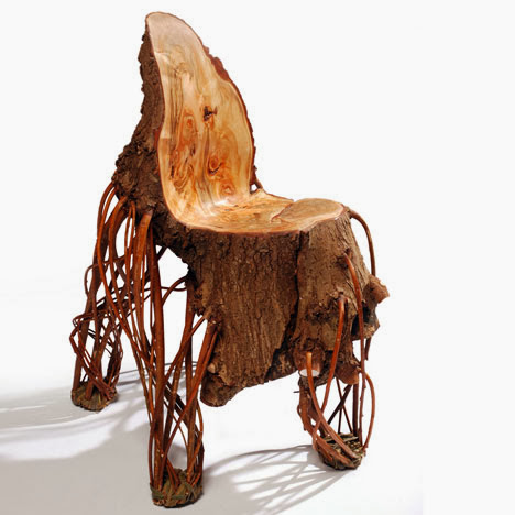 Upside Down Willow Chair by Floris Wubben